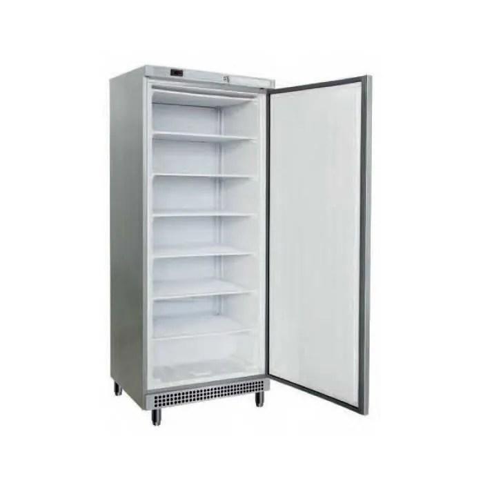 armoire refrigeree positive inox capacite 600 litres
