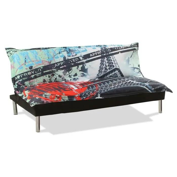Cheap Canap Sofa Divan Canap Clicclac Design Tour Eiffel