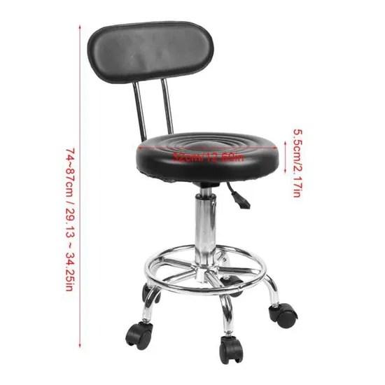 chaise pivotante reglable pour salon de coiffure equipement fauteuil ergonomique pivotant achat vente fauteuil soldes des le 9 janvier cdiscount