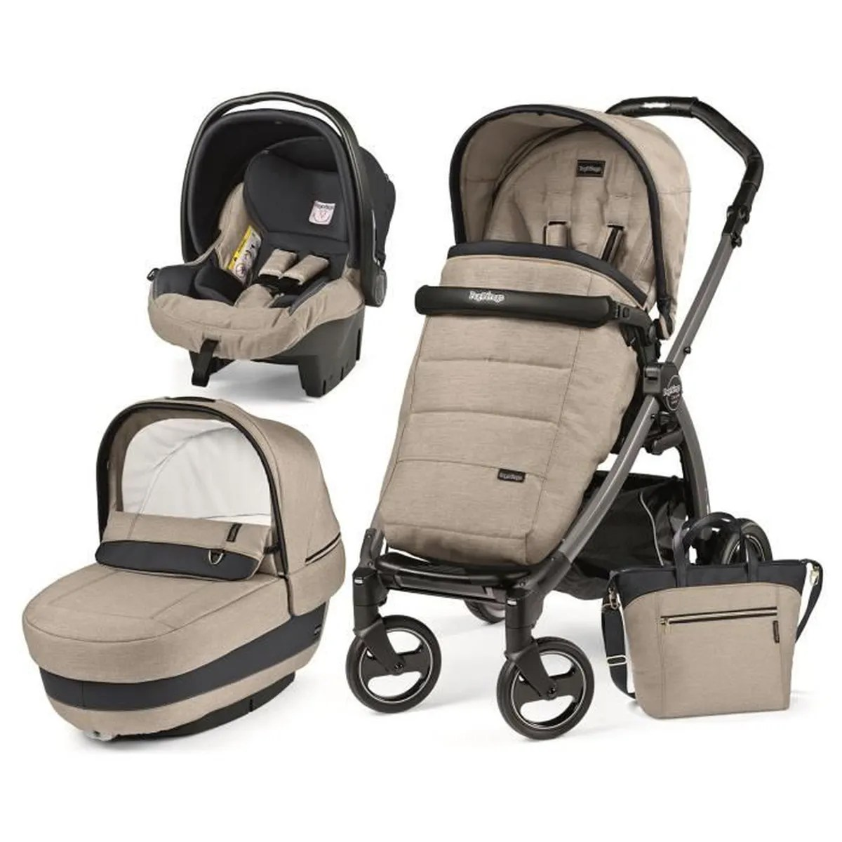 Peg Perego Trio Book Plus Occasion Trio Book Peg Perego Elite Luxe Beige Chassis Bp S Jet