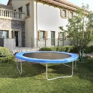 de trampoline songmics coussin de protection ressorts pour tramp