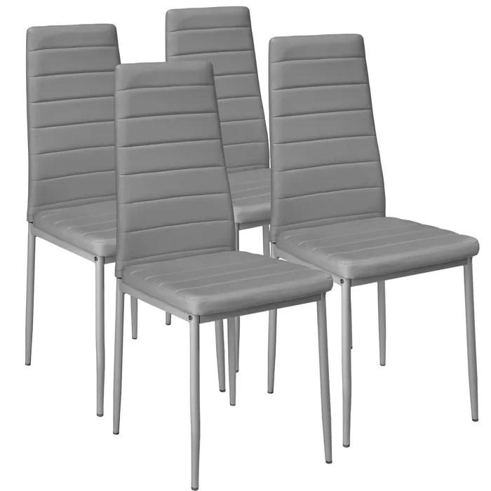 4 Chaises de salle  manger ou de cuisine design Chaise de Salon Meuble de salon Mobilier de