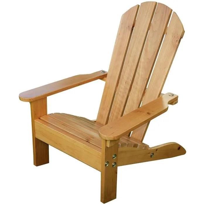 fauteuil jardin kidkraft chaise de jardin adirondack miel en bo