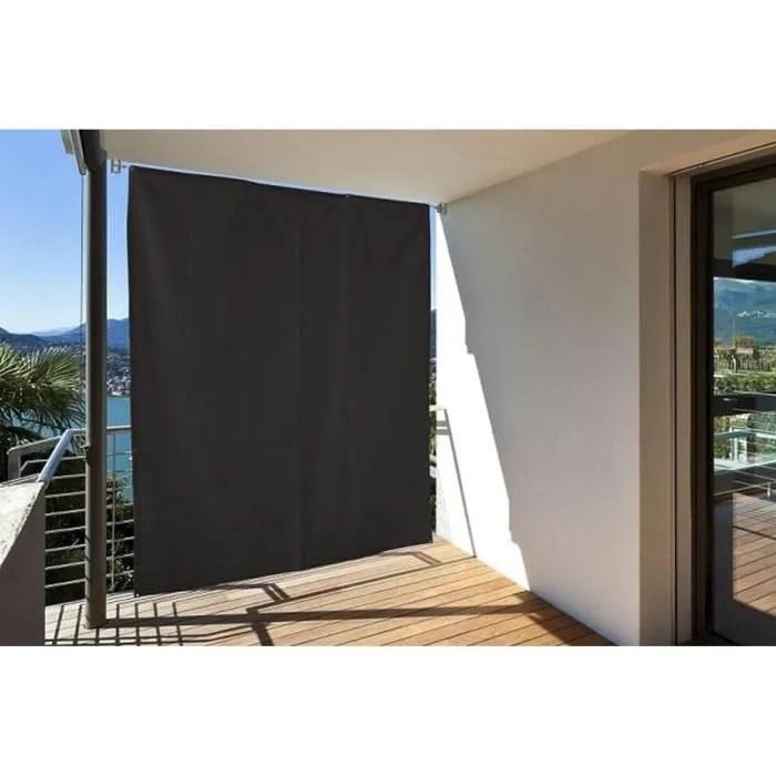 Brise vue Vertical pour Balcon avec illets  Cordelette L230 x H140 cm Gris anthracite  Achat
