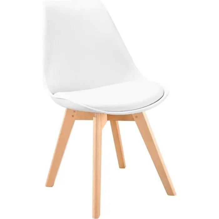 lot chaise scandinave