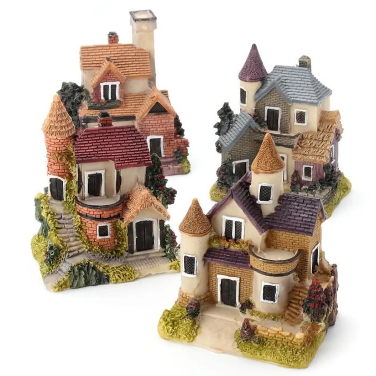 Ornement Rsine Dcoration Miniature Jardin Bonsa Maison Figurine  Achat  Vente statue