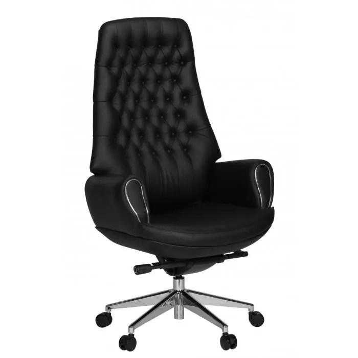 AMSTYLE Chaise De Bureau Cuir PRSIDENT Chaise De Bureau