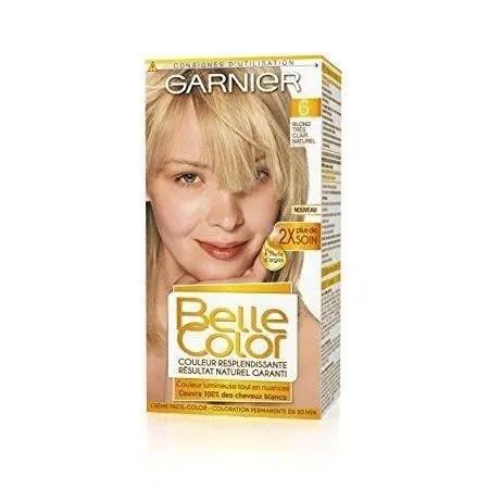 GARNIER Coloration  Blond Clair Cendr Naturel  Achat  Vente coloration BELLE COLOR N11 bld