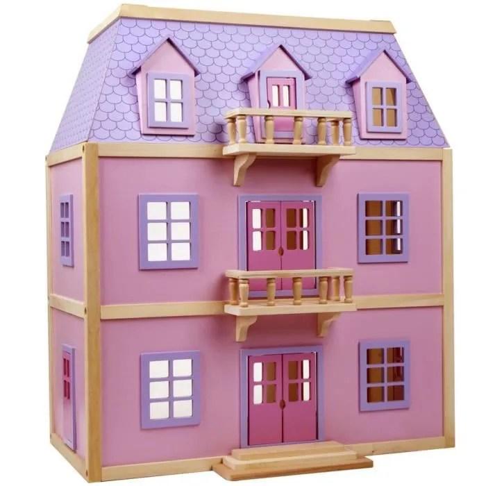 Maison En Jouet Great Barbie La Maison De Vacances With