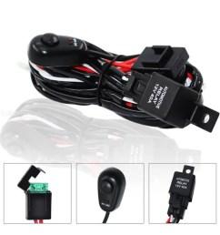 c blage universel bar fil pour voiture led 180w switch wiring harness c ble kit fusible 2 en 1 automobile suv jeep [ 1200 x 1200 Pixel ]
