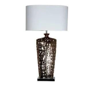 grande lampe de salon cuivre queens