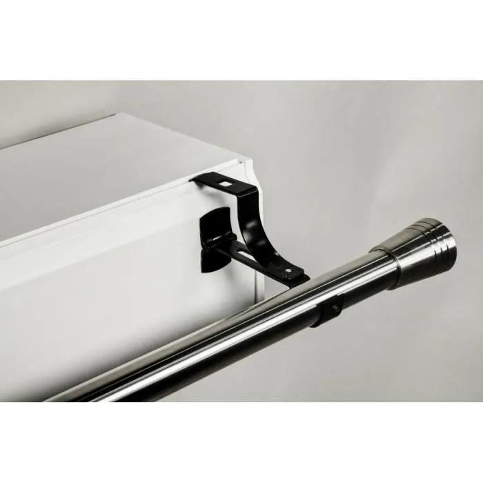 support de tringle a rideaux ᴓ 20mm pour coffre volet roulant sans percage