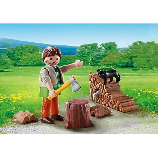 PLAYMOBIL 5412  Bucheron  Achat  Vente figurine  personnage PLAYMOBIL 5412  Bucheron