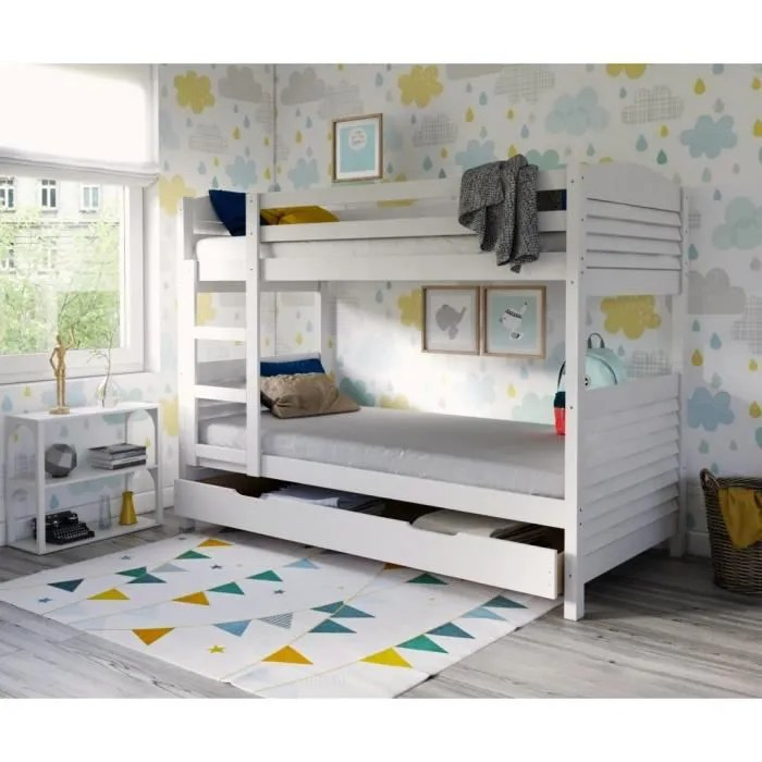 lits superposes woopi lit superpose enfant mixte tiroir