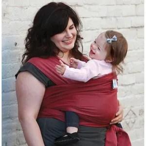 porte b b echarpe de por e porte bebe moby wrap rouge f