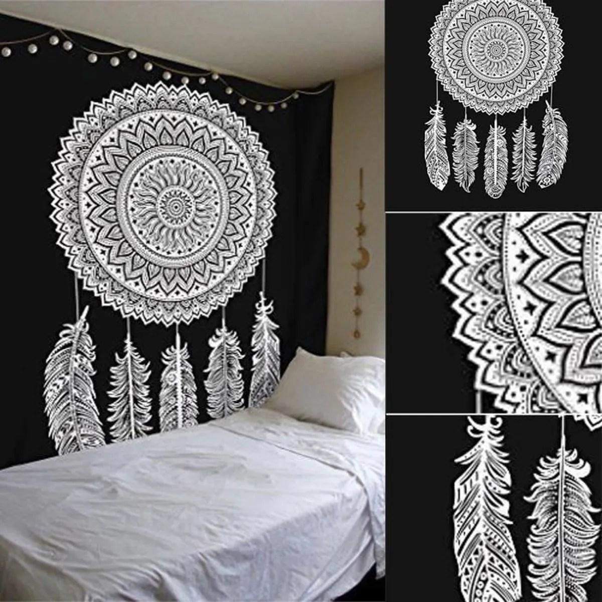 TEMPSA Tapisserie en Polyester Motif de Capteur de Rve Style Mandala Pour Dcor  Achat  Vente