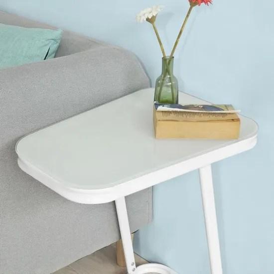 sobuy fbt43 w table dappoint moderne bout de canap e a
