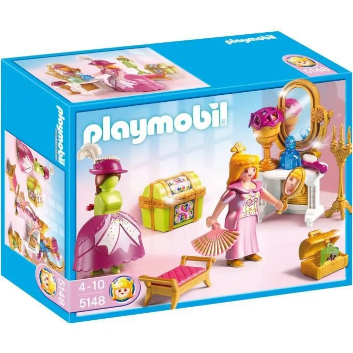 PLAYMOBIL 5148 Salon de Beaut de Princesse  Achat  Vente univers miniature  Cdiscount
