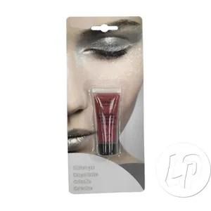 maquillage maquillage creme a l eau en tube rouge a paillette