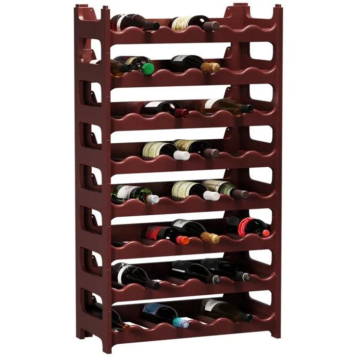 cave a vin modulable etagere a bouteille casier a bouteille range bouteille porte bouteille 48 emplacements de bouteilles