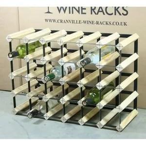 meuble range bouteille 30 bouteilles de vin racks 6 x 4 dimensions ap