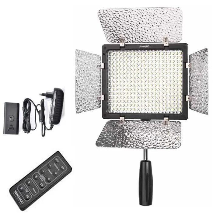 Yongnuo Yn-300 Ii Led Video Projecteur Lumière lampe