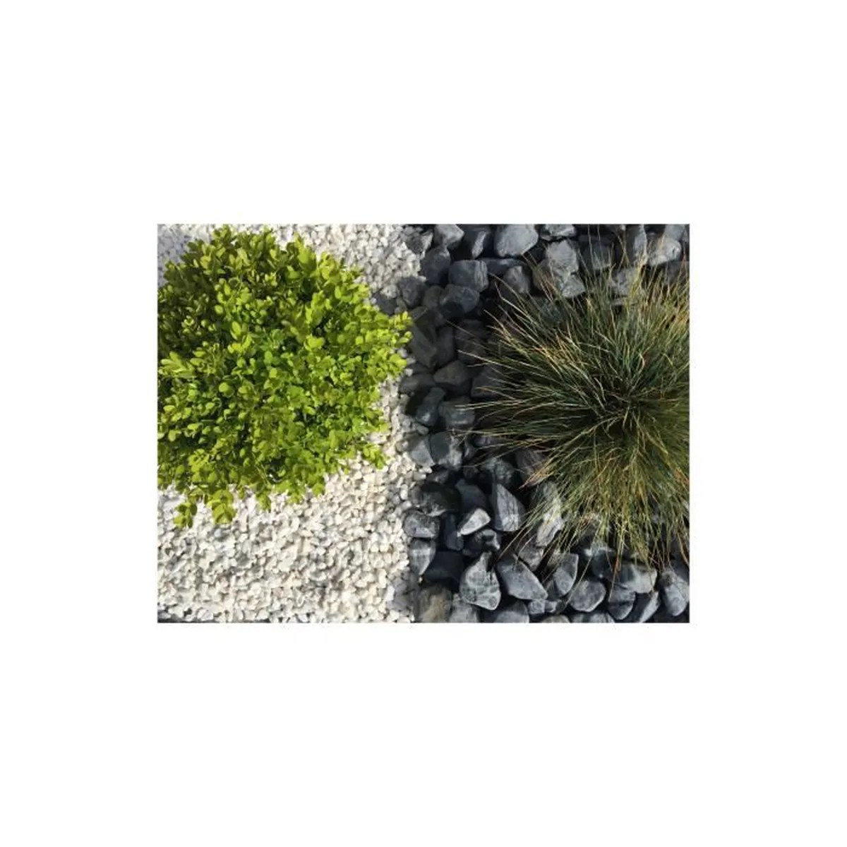 Gravier Lave Allee Jardin Gravier Blanc Pure Calibre 8 12 Mm Achat Vente Galet Gravier