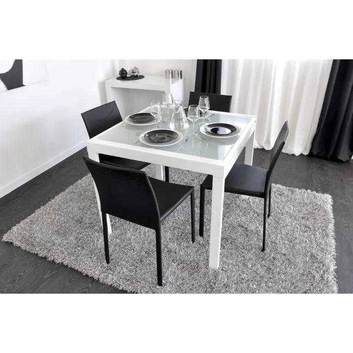 EXTEND Table Extensible Blanche 90180cm Achat Vente
