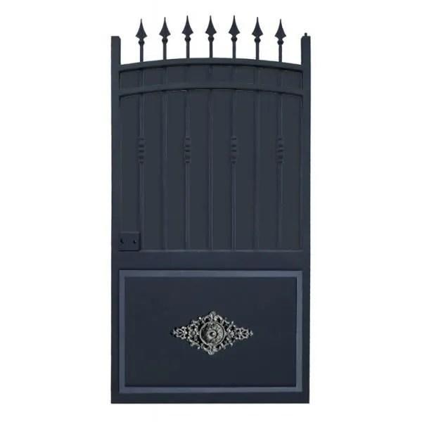 Portillon fer forg modle Provence tol plein  Achat  Vente portail  portillon  Cdiscount
