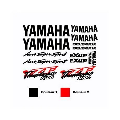 Kit Stickers Yamaha YZF Thunderace 1000 Aero Super Sport