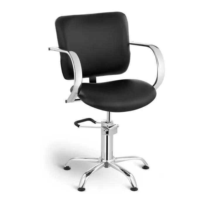 physa fauteuil barbier coiffure chaise coiffeur physa london black pompe hydraulique hauteur reglable 59 72 cm max 150 kg