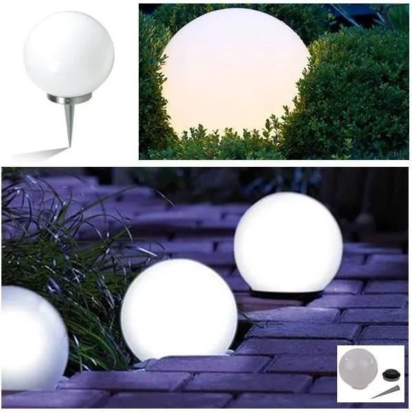 Lampe Boule Solaire Design Diamtre 30 Cm Achat Vente