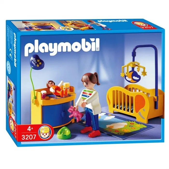 Playmobil Maman Chambre de Bb  Achat  Vente univers miniature  Cdiscount