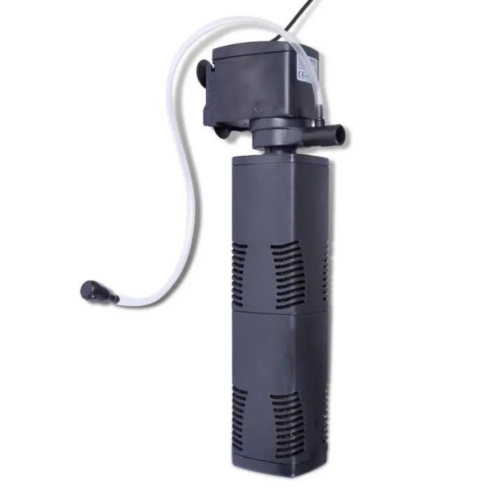 Filtre intrieur daquarium rempli de mousse 1200L  Achat  Vente pompe  filtration Filtre