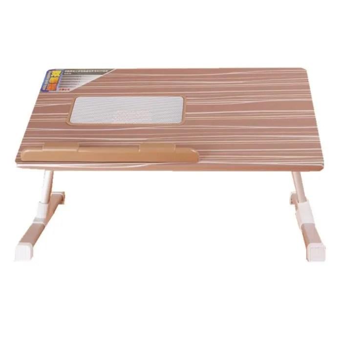 Support Table Pliable De Lit Avec Ventilateur Refroidisseur Pour PC Ordinateur Portable Levage