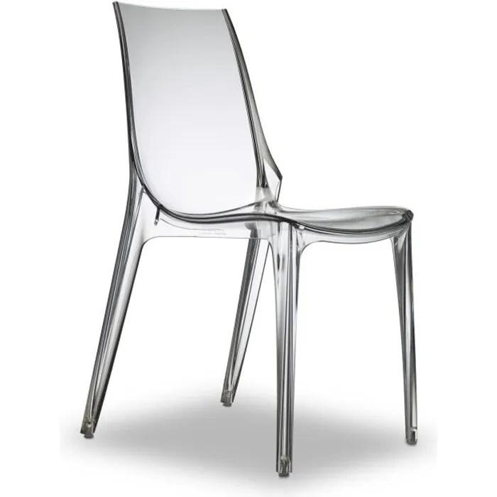 Chaise Transparente Design  Vanity Transparent…  Achat