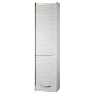 armoire de bureau viola armoire a rideaux largeur 500 mm 4 tablet