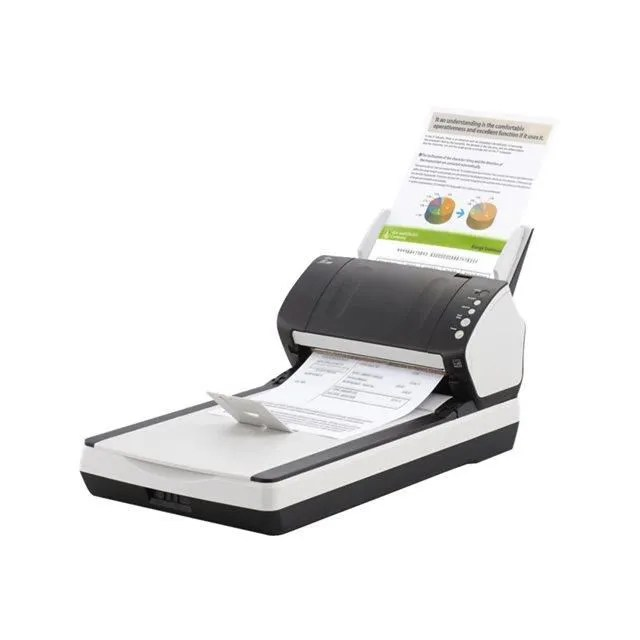 fujitsu fi 7240 scanner de bureau a4 usb 2 0