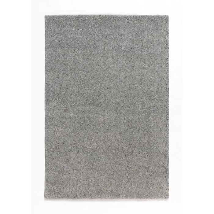 TRENDY Tapis de salon Shaggy gris 160x230 cm  Achat  Vente tapis 100 polypropylne  Cdiscount