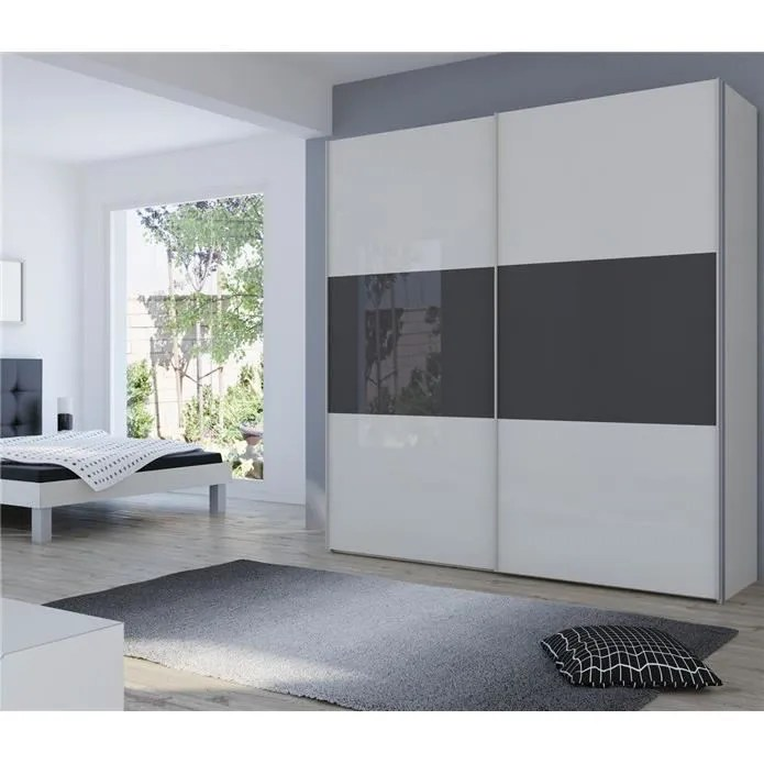 ARMOIRE COULISSANTE LUXE MDF VIRA 240 Achat Vente