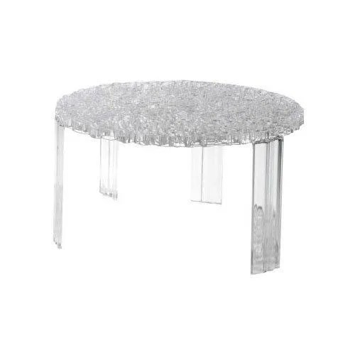 kartell 8502b4 table basse t table transparent