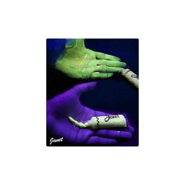 Creme UV Fluorescents JAUNE Pour Corps Et C Achat