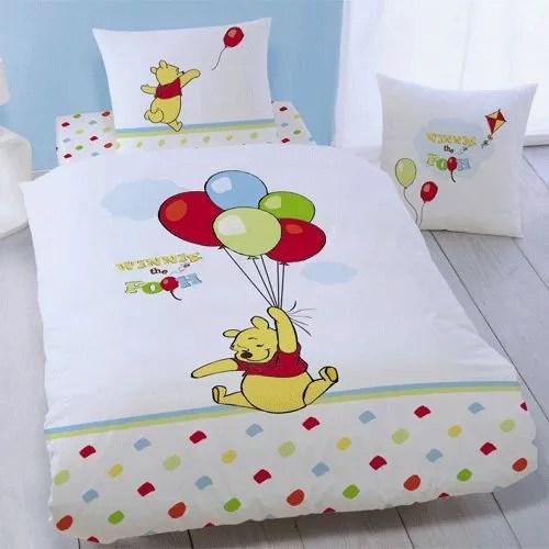 Parure de lit Winnie lourson Ballons  Achat  Vente parure de drap  Cdiscount