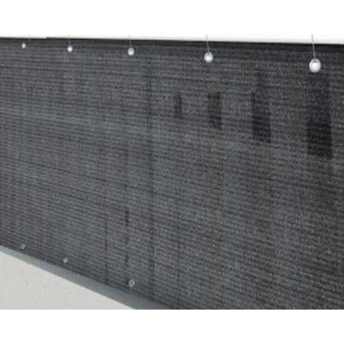 Brise vue brise vent jardin grillage palissade Ardoise en polyester ajour 160 gm antiUV 90