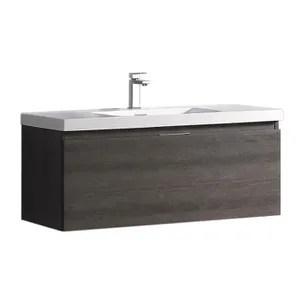 Meuble Vasque Plan Meuble Salle De Bain Vasque Integree Cm Gris A