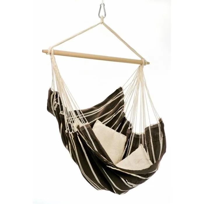 hammock chair amazon garden recliner covers amazonas fauteuil suspendu brasil mocca - achat / vente hamac les soldes ...