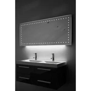Miroir salle de bain avec lumiere  Achat  Vente Miroir salle de bain avec lumiere pas cher