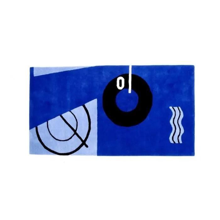 tapis bleu marine style eileen gray