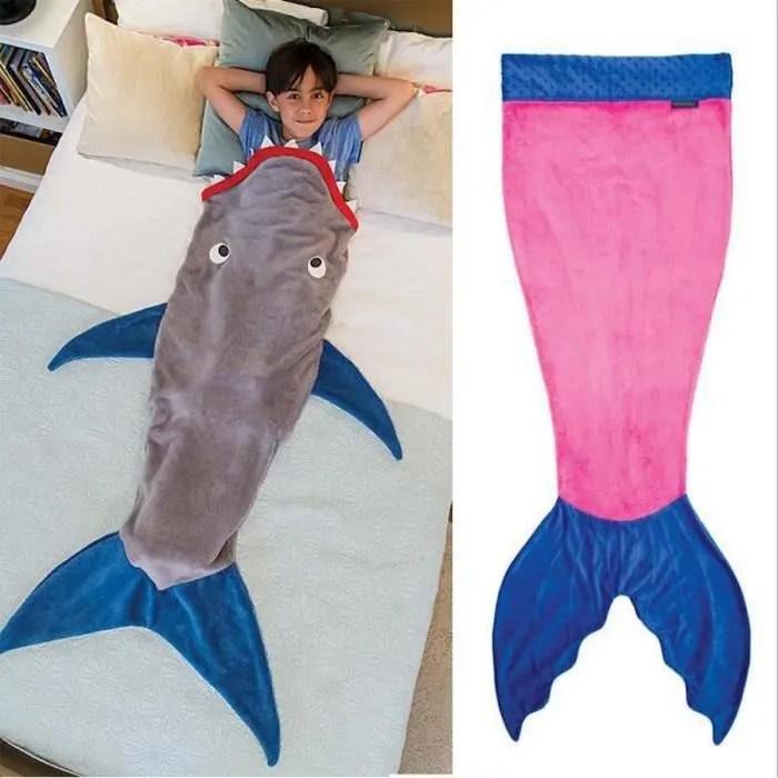 0 12 Ans Requin Sirne Sac De Couchage Enfants Couverture