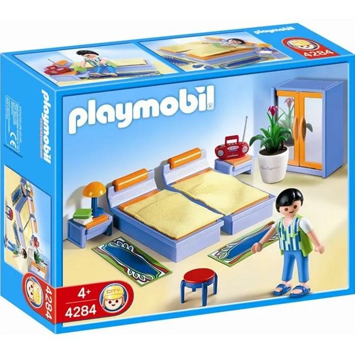 PLAYMOBIL 4284 Chambre des parents  Achat  Vente univers miniature  Cdiscount
